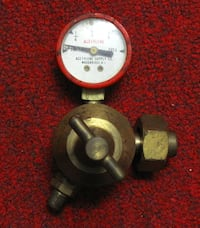 Acetylene Supply Volume Gauge