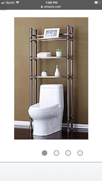 Brand New bathroom space saver reg price $135.00 asking for $90 Rockville, 20851