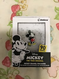 Mickey mouse pin from the uk
