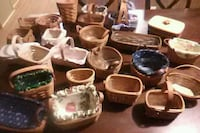 Assorted lonenburger baskets,$200.00 Chambersburg