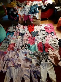 Lots of newborn to 12 months clothes  over 240 clothing and outfits