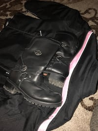 Woman Harley Boots, size 10 Raceland, 70394