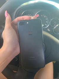 black iPhone 7 Plus with charger Tampa, 33604