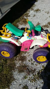 Battery operated car.