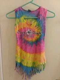 yellow, blue, and pink sleeveless dress San Antonio, 78250