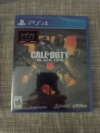 Call of Duty Black Ops 4 PS4 (Unopened) Fairfax Station, 22039