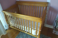 Caramia solid pine crib and dresser BURLINGTON