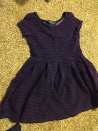Sleeveless dress size 5-6-7 Springfield