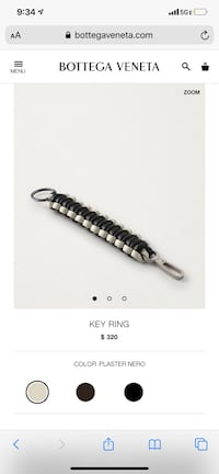Key ring Bottega Venetta