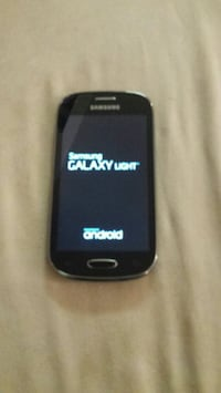 Clean used samsung galaxy light