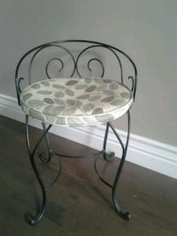 Unique metal chair with cushion Kitchener, N2K 4J7