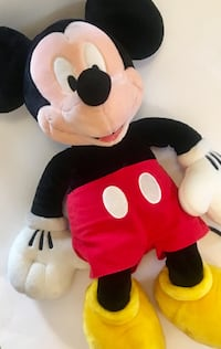 Mickey Mouse HUGE Plush Toy Lincoln, 68510