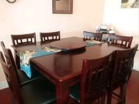 9 piece kitchen table set  Toronto, M9N 2R3