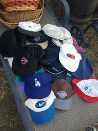Lot of 43 Used Hats Los Angeles, 91345