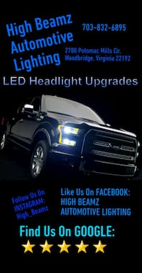 LED Headlight Upgrades  Woodbridge, 22192