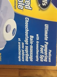 """Dr. Scholl""""s Ultimate Foot Spa."""