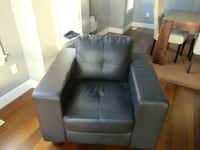 Leatherette 3 Piece Modern Couches Surrey