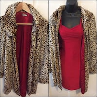 Animal print w/red lining -Size 3/5