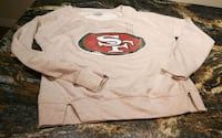 NEW NFL San Francisco Sweater (women sm/youth 15-1 Red Deer