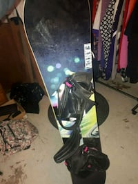 Snow board  622 km