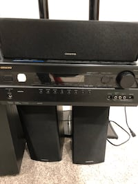 Black and gray stereo component Edmonton, T5M 0W9