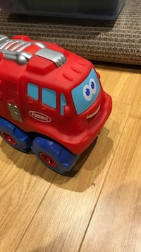 Tonka soft fire truck with sounds