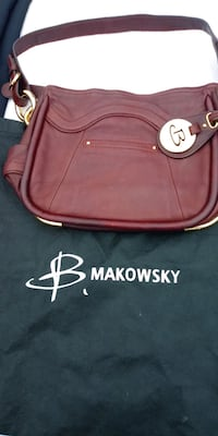 B. MAKOWSKI LEATHER BAG Youngstown, 44505