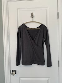 XS Banana Republic grey women's long sleeve top