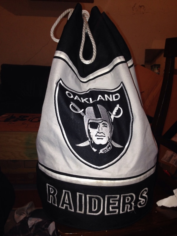 Okland raiders backpack/football bag