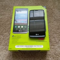 black LG android smartphone with box Portage, 49002