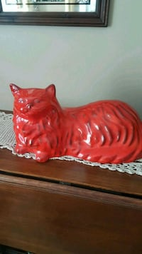 Vintage Large Red Glazed Persian Cat Barrie, L4N 6C3