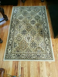 brown and black floral area rug Frederick, 21701