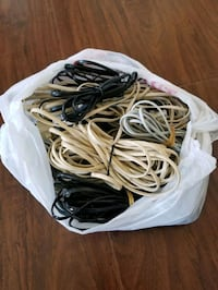 Bag of phone wires