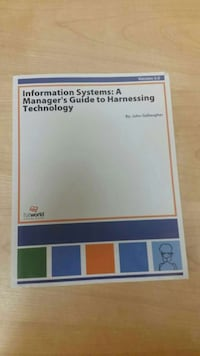Information System A Manager's Guide To Harnessing Atlanta, 30354
