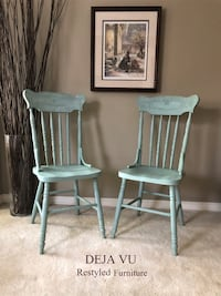 Antique Pressback Chairs