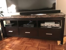 Media Unit and Side Tables
