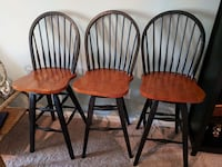 Wooden bar stools  Perry Hall, 21128