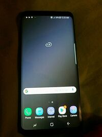 black Samsung Galaxy Android smartphone 544 km
