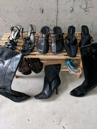 Womans shoes&boots(rack included) Surrey, V3S 4G1
