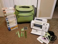 white and green electric sewing machine Madera, 93636