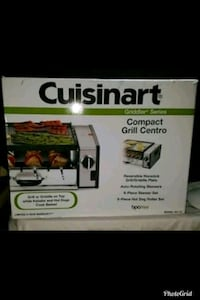 Cuisinart Centro Grill. Automatic rotating bbq.