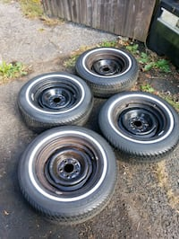 4 new tires on wheels 215 70 15 Middletown, 07748