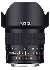 Rokinon 10M-M 10mm F2.8 ED Ultra Wide Angle Lens for Canon EF-M Mount Markham, L3T 1T6