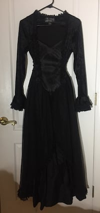 Black Gothic, Cosplay Formal Dress Small Indialantic, 32903