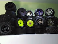 RC rims and tires  Brampton, L7A