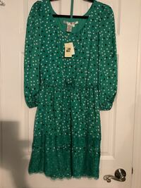 Green Party/casual dress