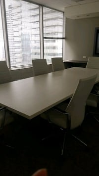 Brand New Boardroom Table + Chairs Toronto, M4W 3R1