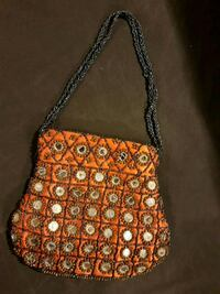 Beautiful handmade Indian mirror work hand bag Mississauga, L5E 3J1