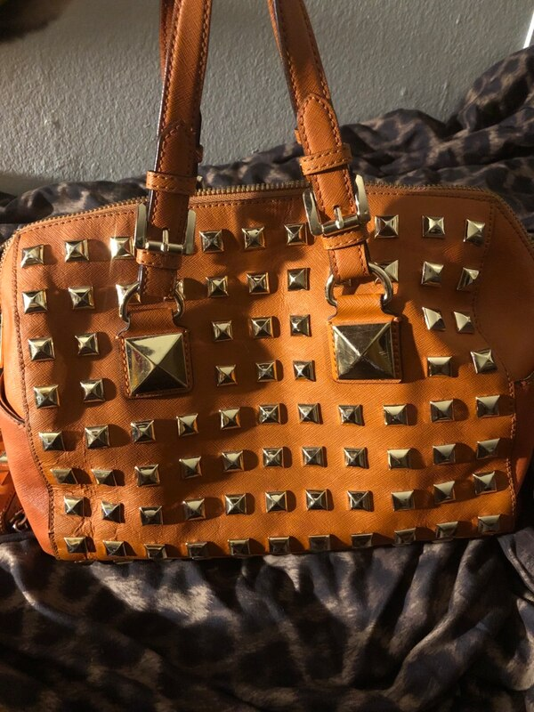 d19a081e6676a Used michael kors satchel with wallet for sale in Houston - letgo