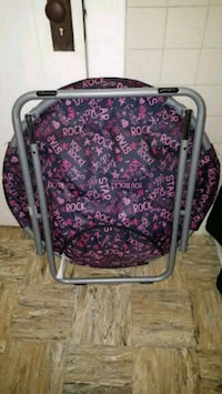 purple and white floral luggage bag 2256 mi